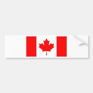 Canada Flag Bumper Sticker