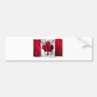 Canada Flag Canadian Country Emblem Leaf Maple Bumper Sticker