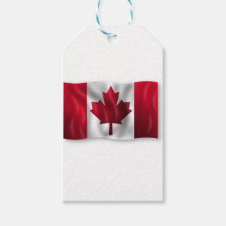 Canada Flag Canadian Country Emblem Leaf Maple Gift Tags