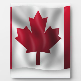 Canada Flag Canadian Country Emblem Leaf Maple Plaque