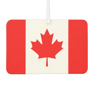 Canada Flag Car Air Freshener