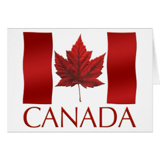 Canada Flag Card Canada Flag Card Personalized