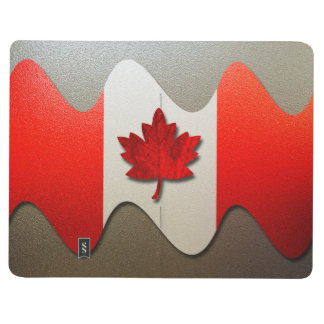 Canada Flag-Chrome by Shirley Taylor Journal