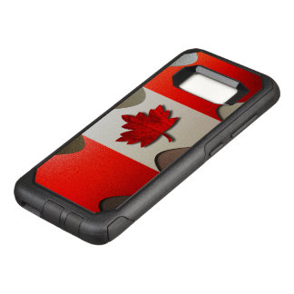 Canada Flag-Chrome by Shirley Taylor OtterBox Commuter Samsung Galaxy S8 Case