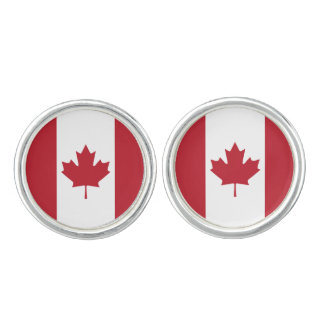 Canada Flag Cufflink Set Cufflinks