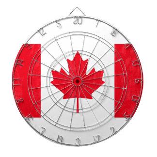 CANADA FLAG Dart Board
