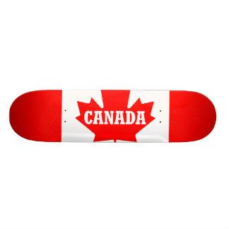 Canada Flag Design Skate Board