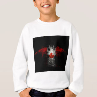 CANADA FLAG EAGLE SWEATSHIRT