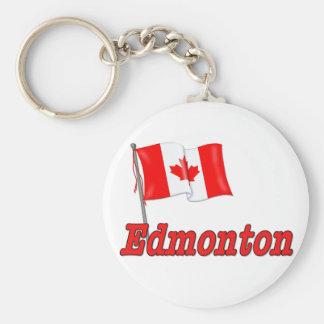 Canada Flag - Edmonton Key Chains