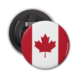 Canada Flag Fridge Magnet Bottle Opener