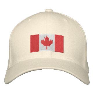 Canada Flag Hat White