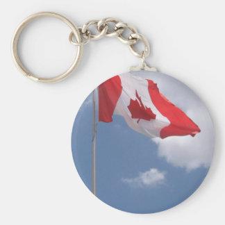Canada Flag Key Chain