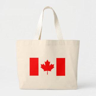 Canada Flag Large Tote Bag