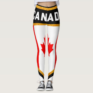 Canada Flag Leggings