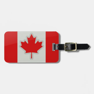 Canada flag - luggage tag