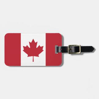 Canada Flag Luggage Tag
