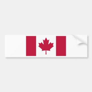 Canada Flag Maple Leaf design Bumper Sticker