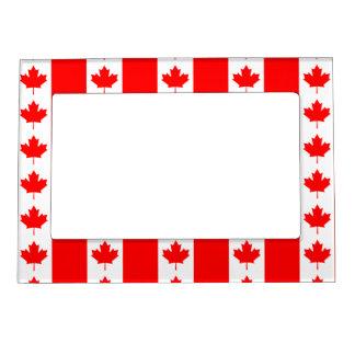 Canada Flag Maple Leaf O Canada Nation Symbol Icon Magnetic Frame