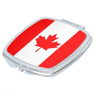 Canada Flag Mirrors For Makeup