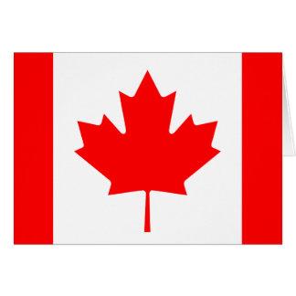 Canada Flag Note Card