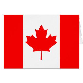 Canada Flag Notecard Greeting Cards