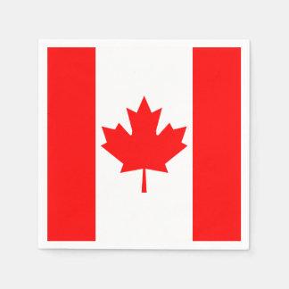 Canada Flag Paper Napkin