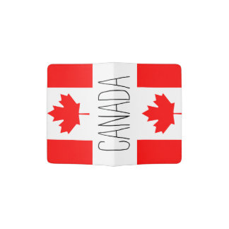 Canada flag passport holder   Canadian pride