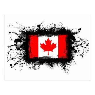 Canada Flag Post Card