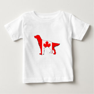 Canada Flag Setter Baby T-Shirt