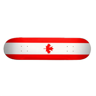 Canada Flag - Skateboard