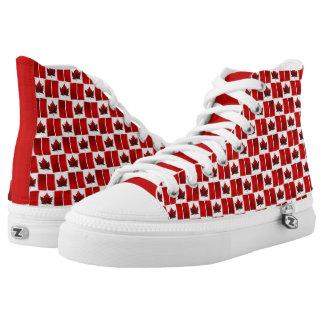 Canada Flag Sneakers Canada Hightop Runners