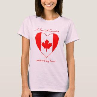 Canada Flag Sweetheart T-Shirt