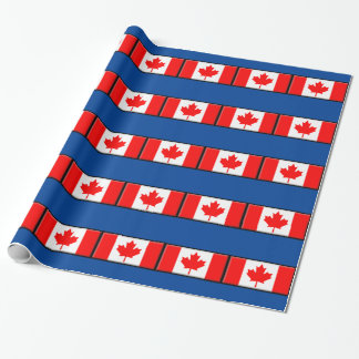 Canada Flag Wrapping Paper