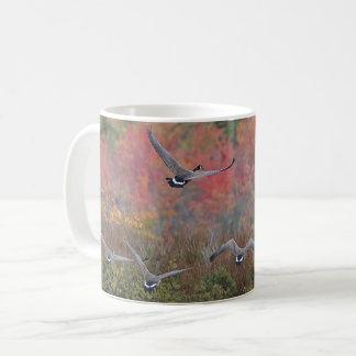 Canada Geese in Flight Coffee Mug