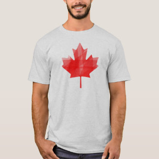Canada Geo Maple Leaf T-Shirt
