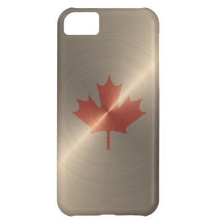 Canada Gold Maple Leaf Case For iPhone 5C