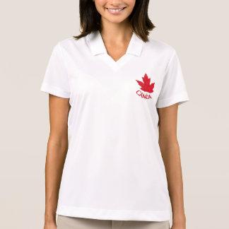 Canada Golf Shirt Women's Canada Polo Shirt