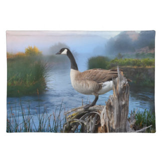 CANADA GOOSE ON THE SHASTA PLACEMAT