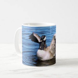 Canada Goose Spreading Her Wings Coffee Mug
