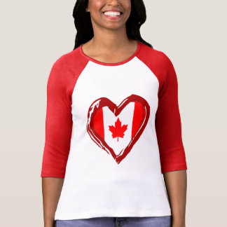 Canada Heart T-Shirt