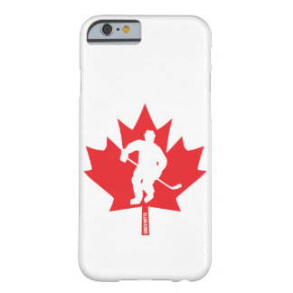 Canada Hockey Maple Leaf Player Barely There iPhone 6 Case