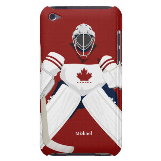 Canada Hockey Team Goalie iPod Case