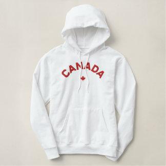 Canada Hoodie - Red Canada Maple Leaf