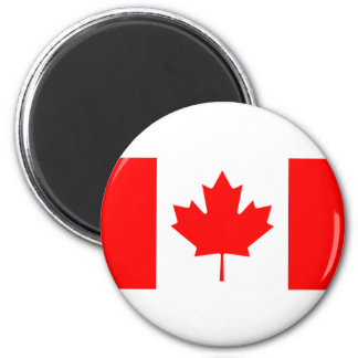 Canada I Love MY Country Flag CA Template Magnets