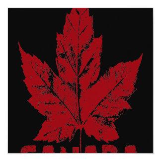 Canada Invitations Personalized Cool Canada RSVP