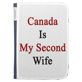 Canada Is My Second Wife Kindle Case