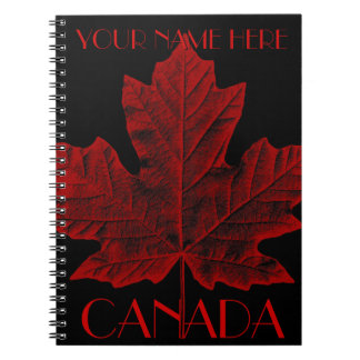 Canada Journal Custom Canada Souvenir Notebooks