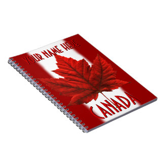 Canada Journal Souvenir Custom Notebooks Canada