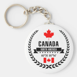 Canada Key Ring