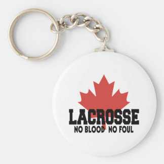 Canada Lacrosse Canadian Keychains